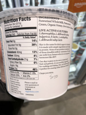 How to Choose a Healthy Yogurt - Amy
