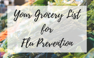 Your Grocery List for Flu Prevention